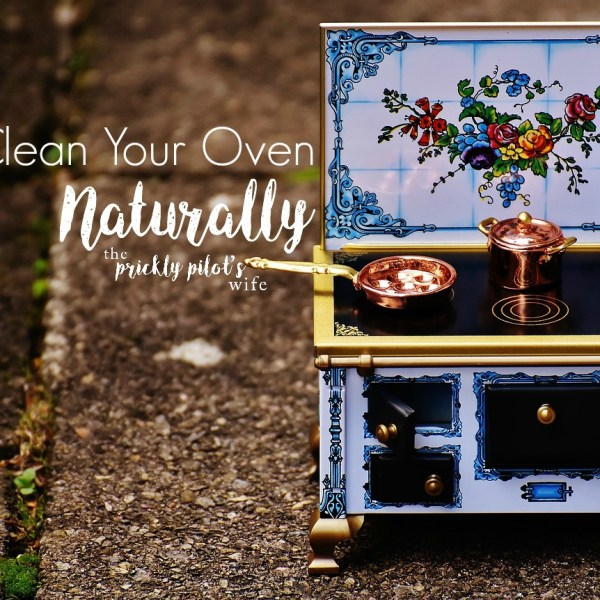 Clean Your Oven Naturally with Essential Oils