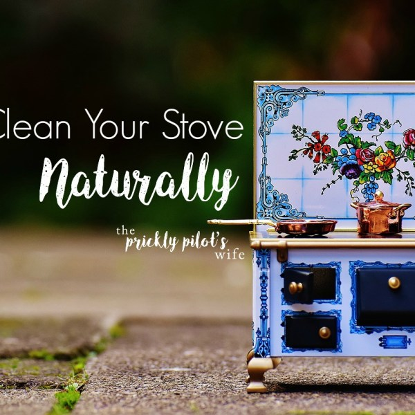 Clean Your Stove Naturally with Essential Oils