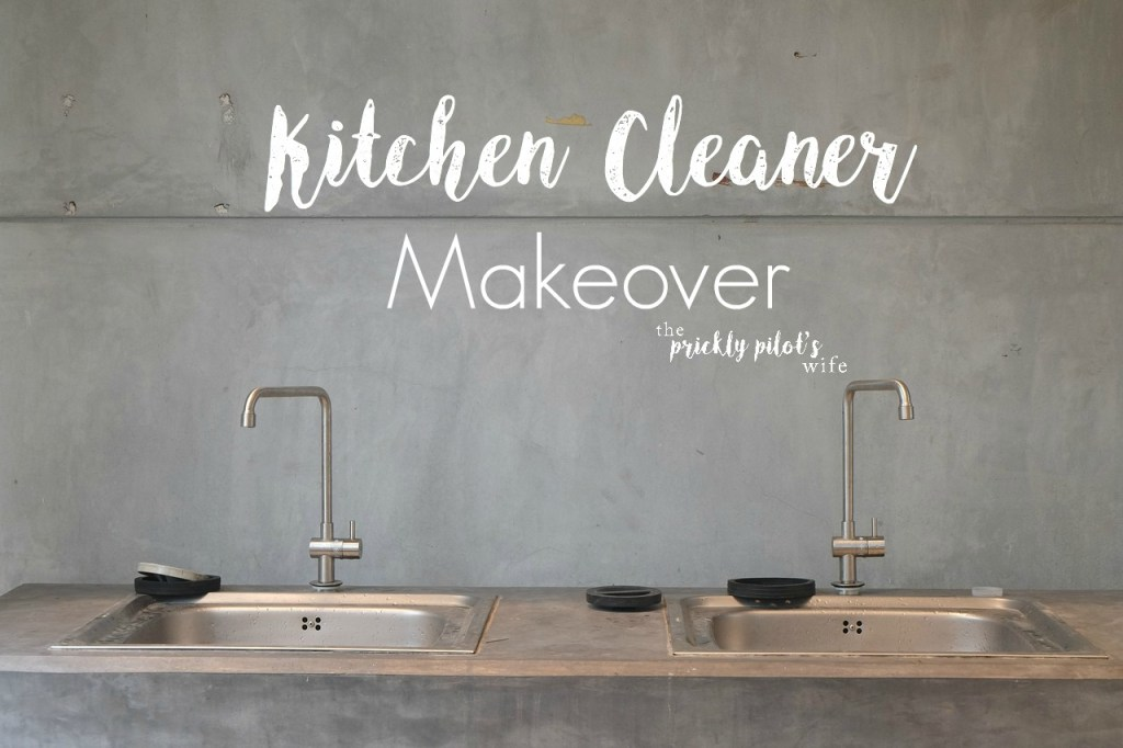 kitchen cleaner makeover doterra essential oils