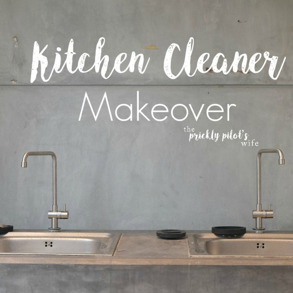 Kitchen Cleaner Makeover with Essential Oils