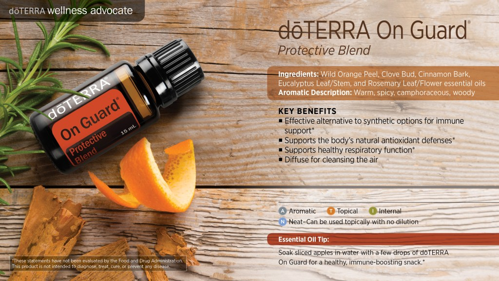 doterra onguard essential oil key benefits uses
