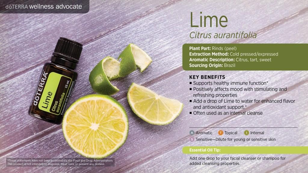 doterra lime key benefits uses