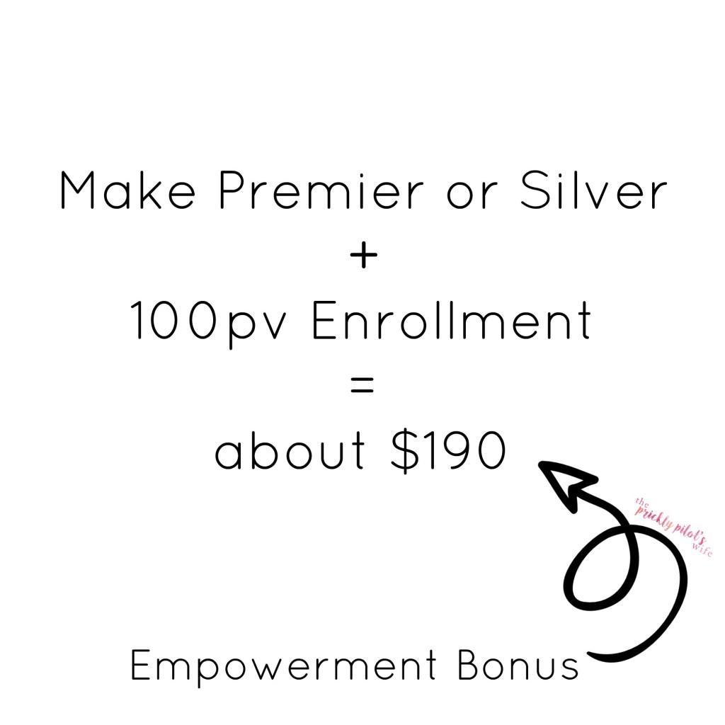 doterra empowerment bonus premier silver