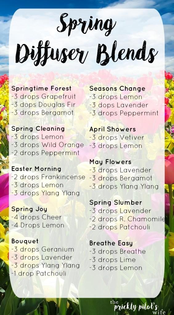 spring diffuser blends doterra