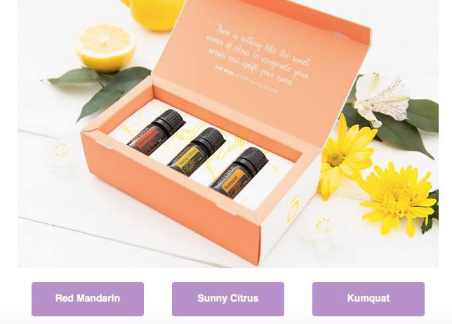 doterra mother's day special 2017 red mandarin sunny citrus kumquat