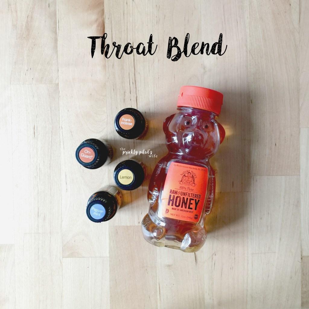 essential oil throat blend recipes