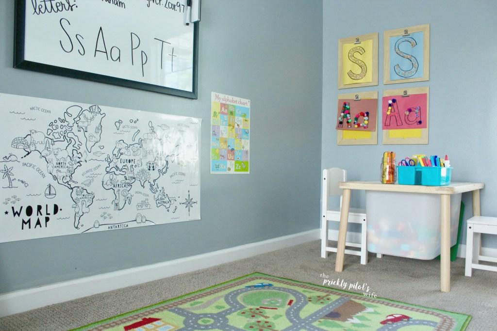 must-have items for your homeschool preschool
