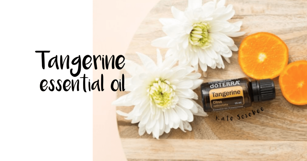 doterra tangerine essential oil uses and benefits