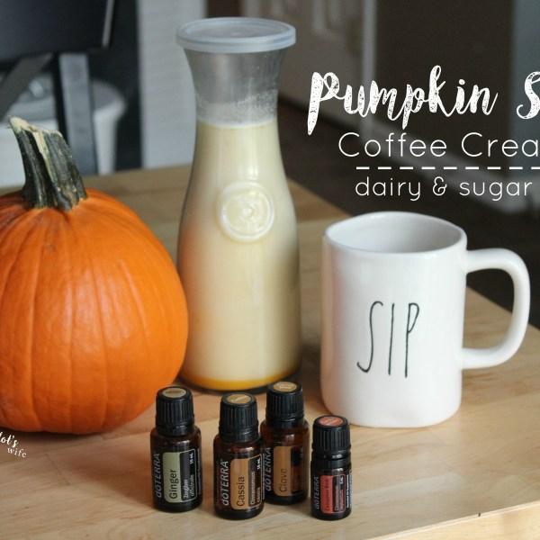 Pumpkin Spice Coffee Creamer Recipe – Dairy & Sugar Free