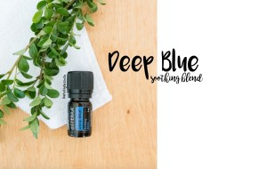DoTERRA Deep Blue Essential Oils