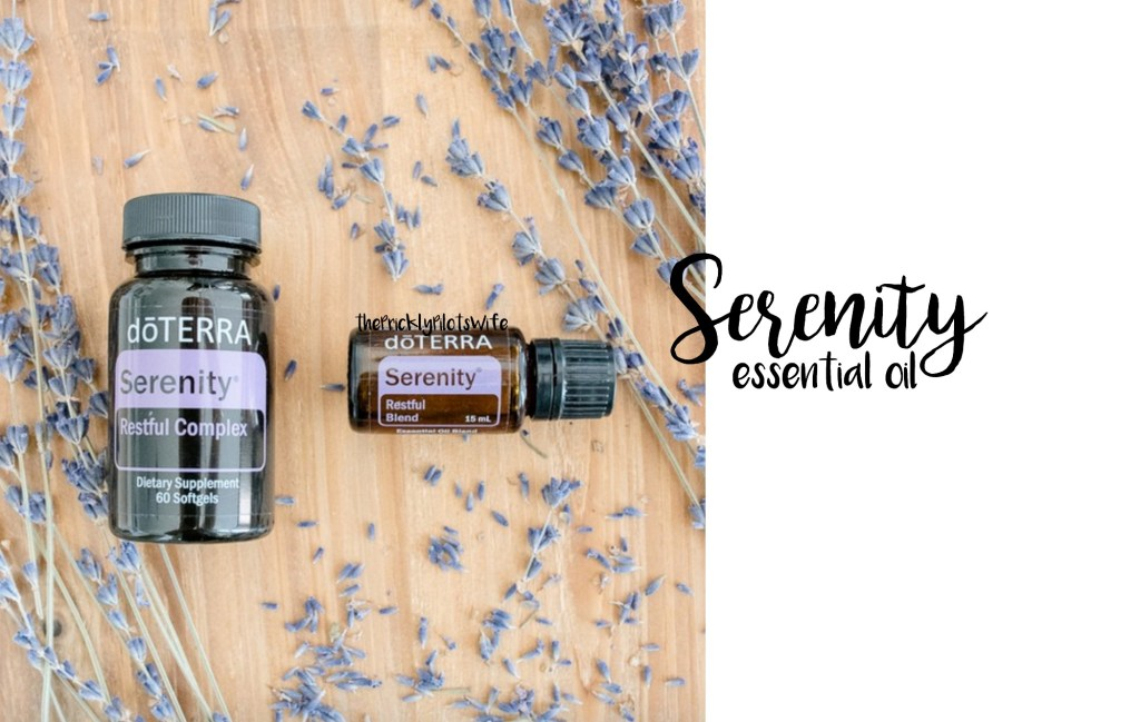 doterra serenity essential oil