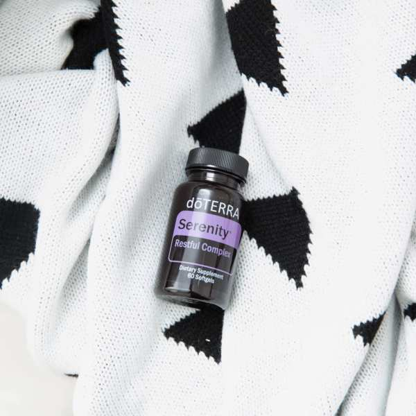 Sleep Tight Naturally with Serenity Softgels