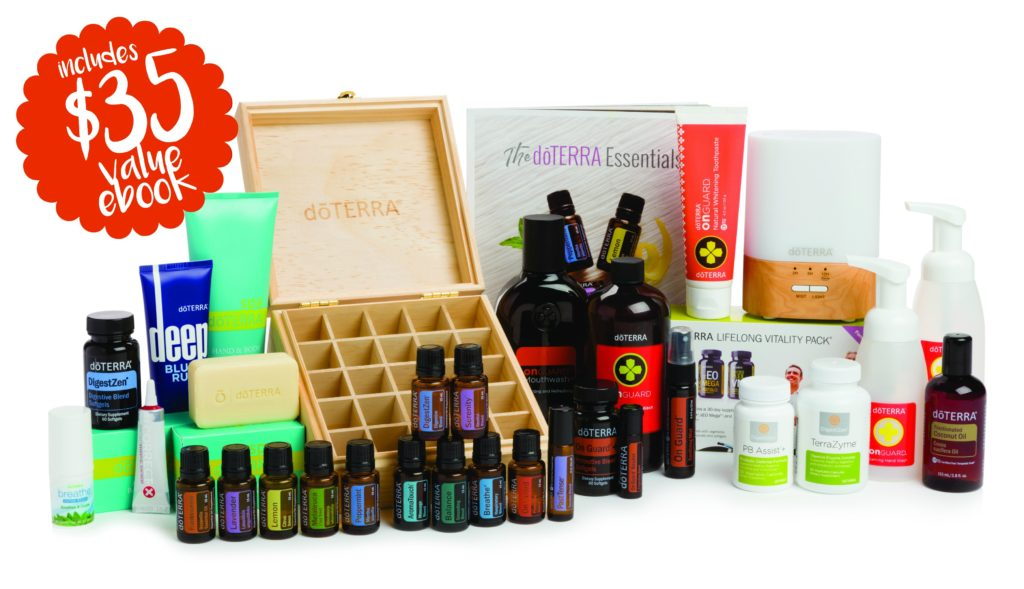doterra natural solutions kit with clean home challenge ebook