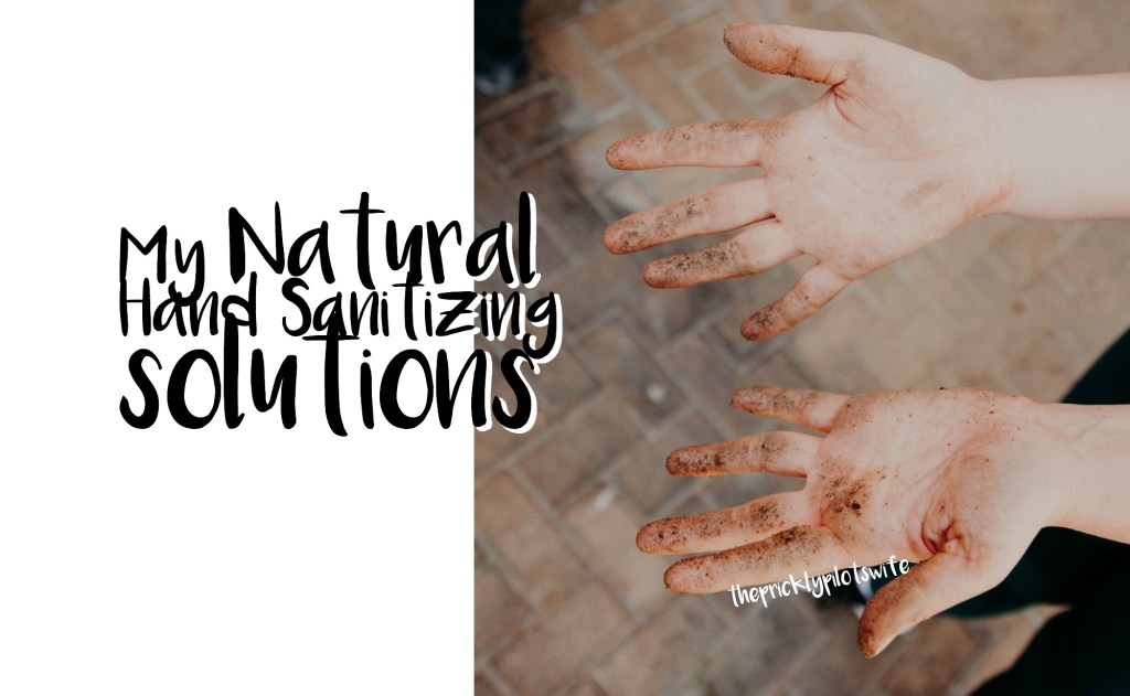 My Natural Hand Sanitizing Solutions doterra essential oils