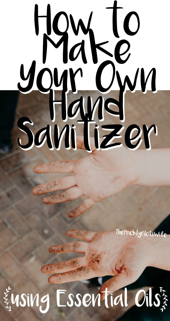 how to make your own hand sanitizer doterra essential oils