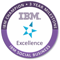 IBM Champion for Social Business - 3 Year Milestone