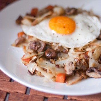Paleo Cabbage Hash - www.ThePrimalDesire.com