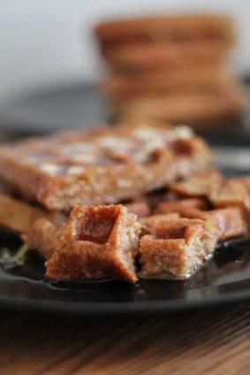 Nutty Waffles 07