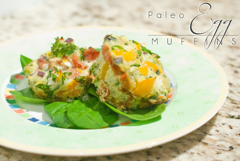 Paleo Egg Muffins (aka Frittata Muffins) are full of vegetables and flavor - make a batch as quick breakfasts/snacks for the week! www.ThePrimalDesire.com