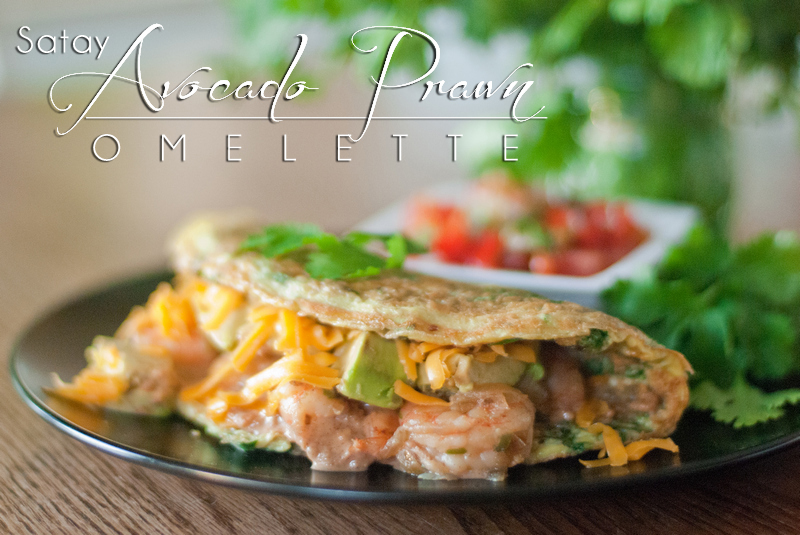 "The flavor combination of the Satay Avocado Prawn Omelette will ""blow your doors off""! Warning: Food this good needs to come with a warning label. www.ThePrimalDesire.com"