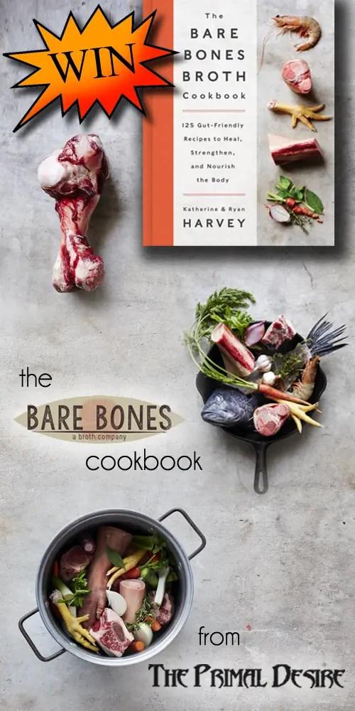 Pork Bone Broth - Bare Bones Broth Cookbook GIVEAWAY & review