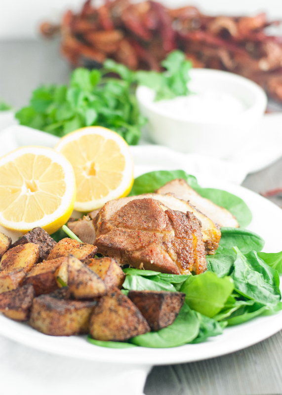 Moroccan Spiced Pork & Potatoes 04