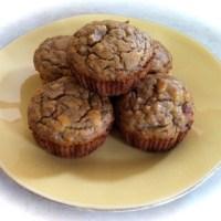 Banana sweetened coconut flour muffins