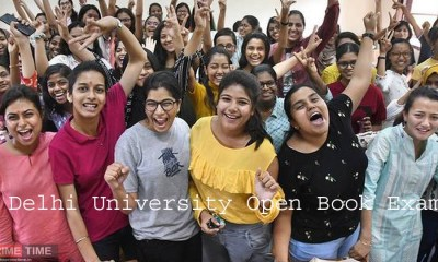 Delhi University Open Book Exam