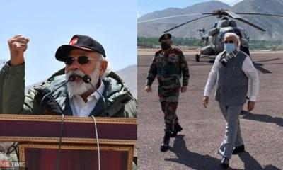 Shiv Sena leader Priyanka Chaturvedi said after PM Narendra Modi leaves Leh, message of solidarity will go among soldiers