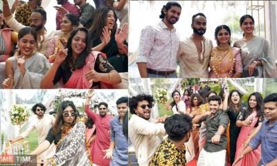 Sooraj SK Wedding Celebration Video, Stylish wedding celebrated by celebrities