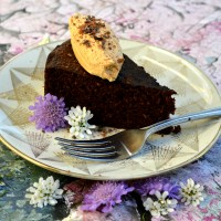 Keto Crock Pot Fudge Cake &  QUEST Giveaway
