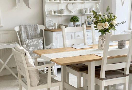 Farmhouse Winter Home Tour Lovely For Spring