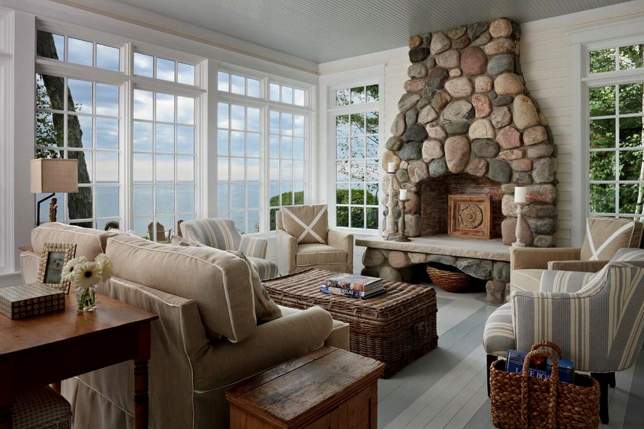 25 Adorable Beach House Interior Design Ideas