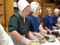 Amish Women Dish Out Wholesome and Hearty Servings