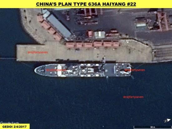 China's Plan Type 636A Haiyang #22
