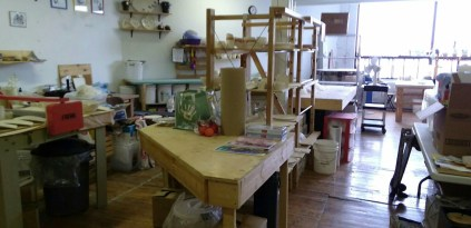 Space for a few other ceramic artists