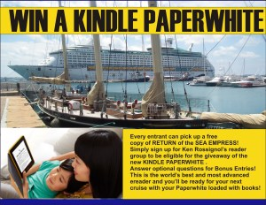 Kindle Paperwhite promo for author site