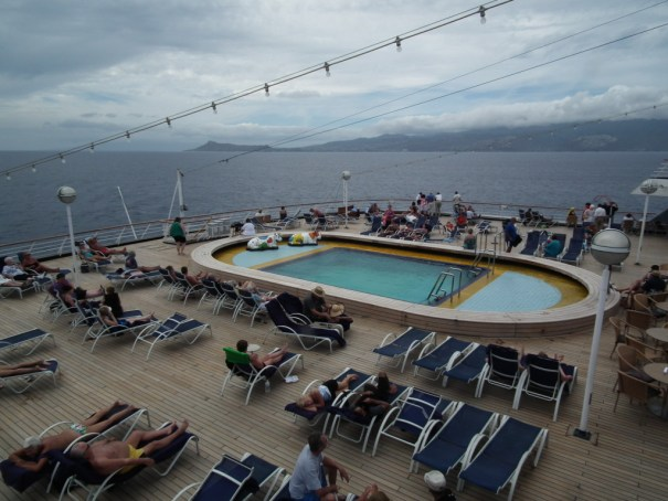 Leaving Hawaii on the Holland America Zaandam. THE PRIVATEER CLAUSE photo