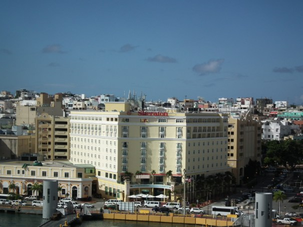 San Juan, Puerto Rico downtown.  THE PRIVATEER CLAUSE photo