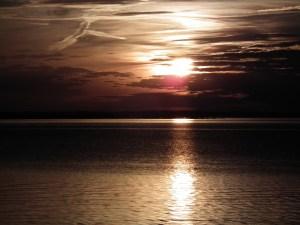 Winter sunset on Potomac