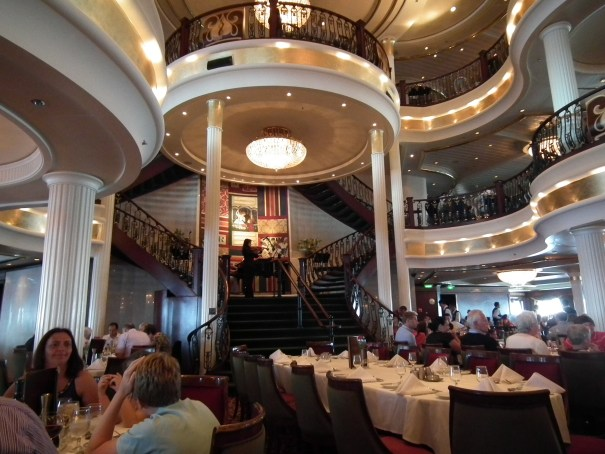 The grand dining room on the Independence of The Seas. THE PRIVATEER CLAUSE photo