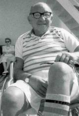 Leon Klinghoffer, a cruise passenger from New Jersey, was in his wheel chair on the Achille Lauro when cowardly PLO terrorists murdered him and threw him overboard while he was on a Mediterranean cruise.