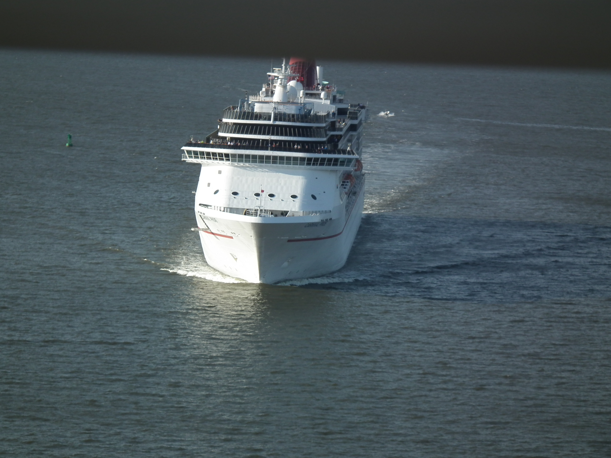 Carnival Pride steams towards Port Canaveral & Mexico from Baltimore; Grandeur runs to Canada and Caribbean