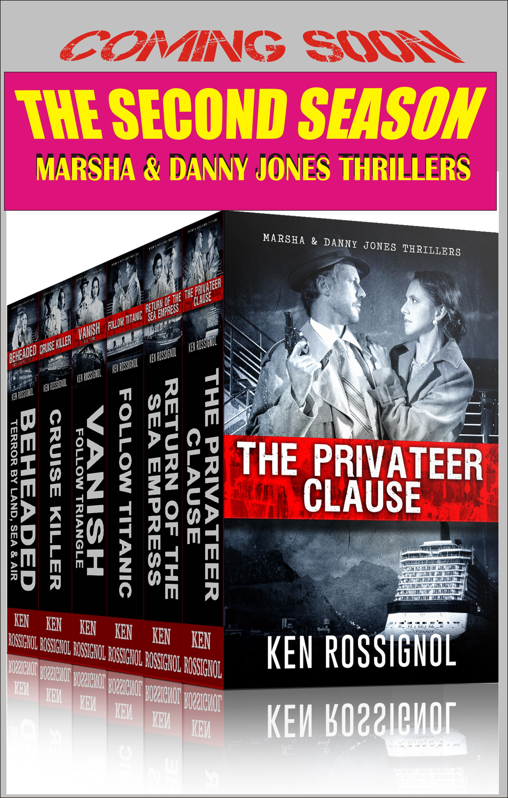 Second Season of the Marsha & Danny Jones Thrillers – The Preamble