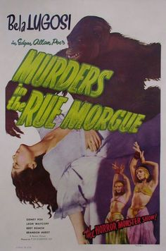 Murders in the Rue Morgue – by Edgar Allan Poe