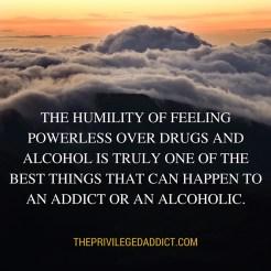 Powerless = Humility