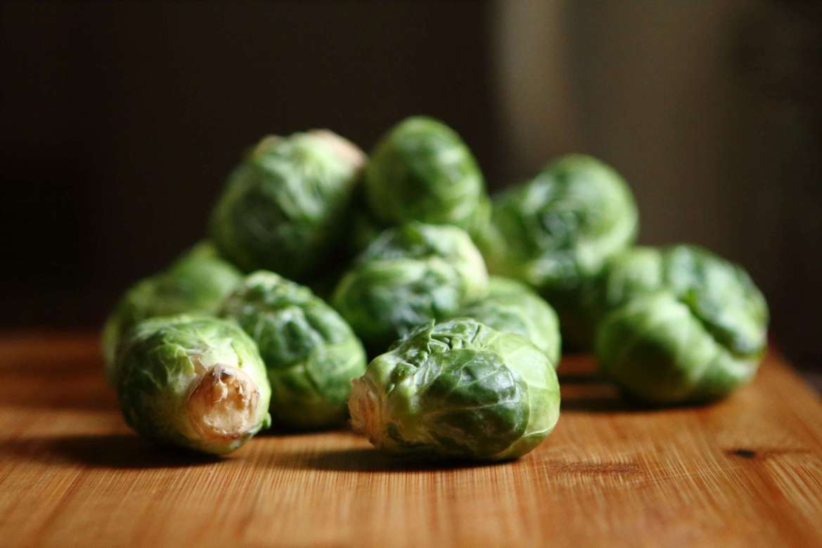 Avoid stress at Christmas time  with the Christmas food. Brussel sprouts, Yum!