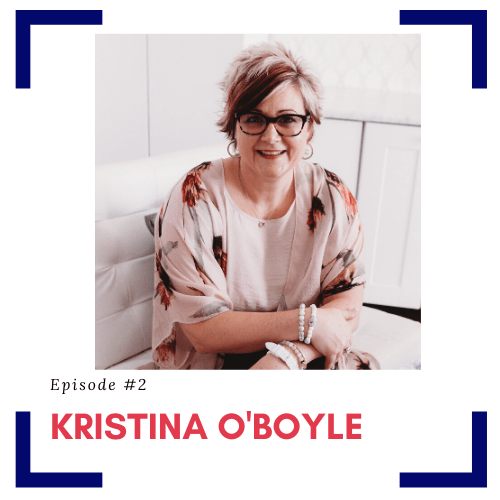 Podcast guest Kristina O'Boyle for episode a second set of eyes