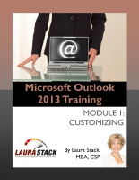 Customizing Your Outlook Laura Stack Productivity