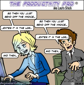 The Shadow Knows: Tapping Job Shadowing to Cover Critical Tasks by Laura Stack #productivity